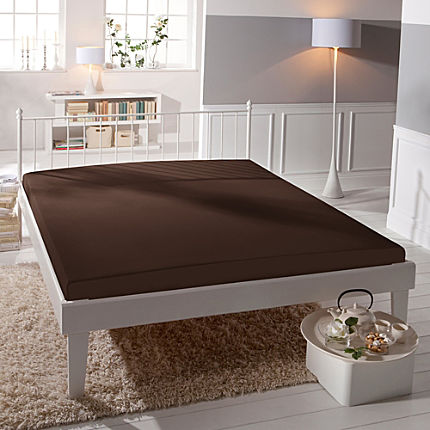 Zoom: Erwin Müller stretch jersey fitted sheet,