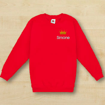 Fruit of the Loom Sweatshirt Kinder