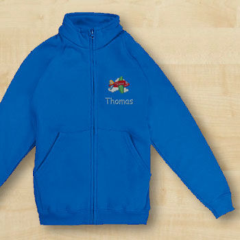 Fruit of the Loom Sweatjacke Kinder