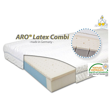 Zoom: Aro® Latex Combi Matratze