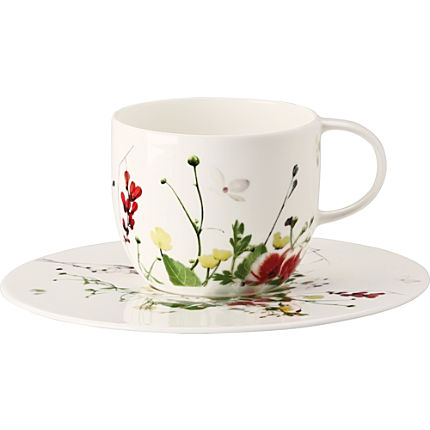 Zoom: Rosenthal 2-teiliges Kaffee-Set Brillance Selection Fleurs Sauvages
