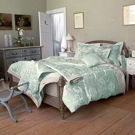 laura ashley mako satin bettw sche dorset duckegg bettw sche 135x200 cm blau erwin m ller. Black Bedroom Furniture Sets. Home Design Ideas
