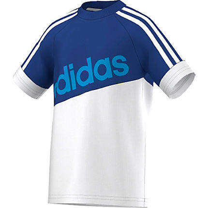 Zoom: Adidas Single-Jersey T-Shirt