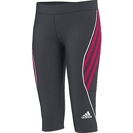 Zoom: Adidas Single-Jersey Capri-Leggings