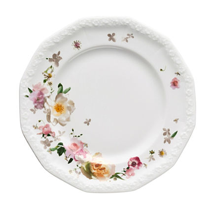 Zoom: Rosenthal Selection Maria Pink Rose Dessertteller
