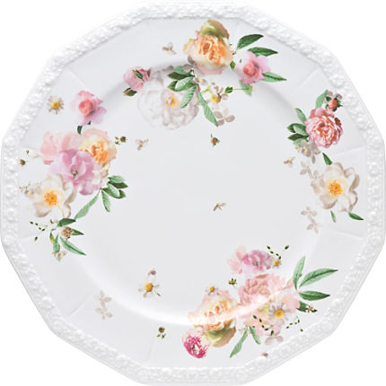Zoom: Rosenthal Selection Maria Pink Rose Platzteller