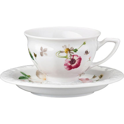 Zoom: Rosenthal Selection Maria Pink Rose Espresso-Set 2-teilig