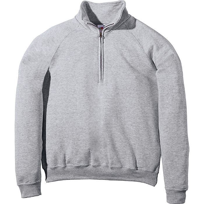 Fruit of the Loom Sweat Unisex-Troyer | Bekleidung > Pullover > Troyer | Fruit Of The Loom