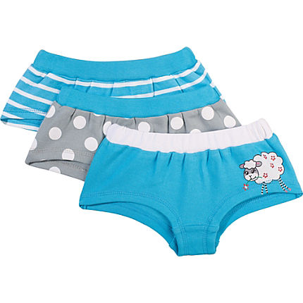 Zoom: Kinderbutt Pants im 3er-Pack