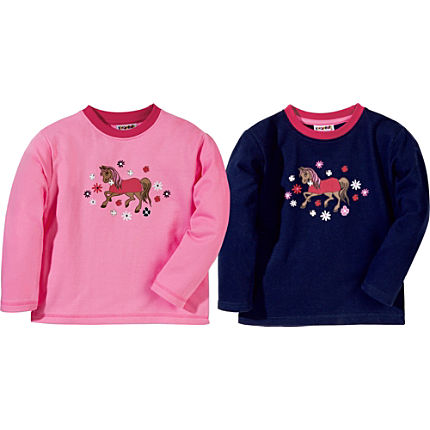 Zoom: Kinderbutt Sweatshirt im 2er-Pack