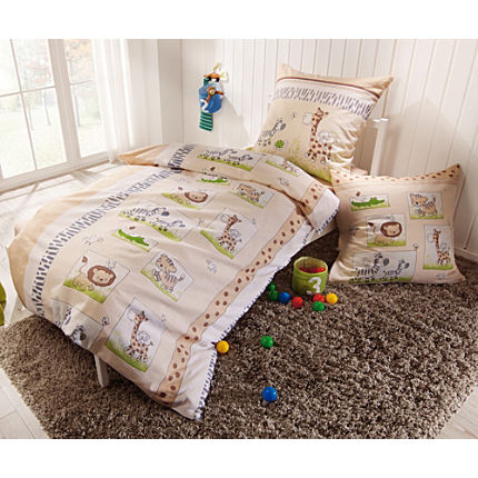 Zoom: Erwin Müller cotton flannel duvet cover set