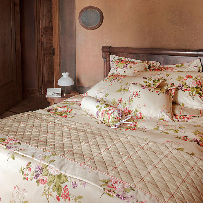 Laura Ashley Mako-Satin Wendebettwäsche ´´Rosemoor natural V6´´