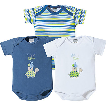 Zoom: Jacky Baby Body im 3er-Pack