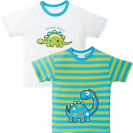 Zoom: Kinderbutt T-Shirt im 2er-Pack
