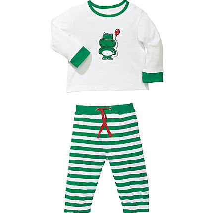 Zoom: Kinderbutt Interlock-Jersey Set 2-teilig