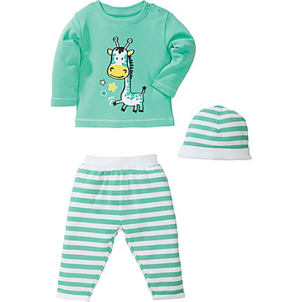 Zoom: Kinderbutt Interlock-Jersey Set 3-teilig