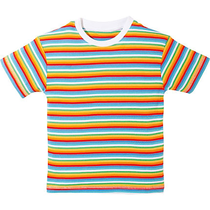 Zoom: Kinderbutt Interlock-Jersey T-Shirt