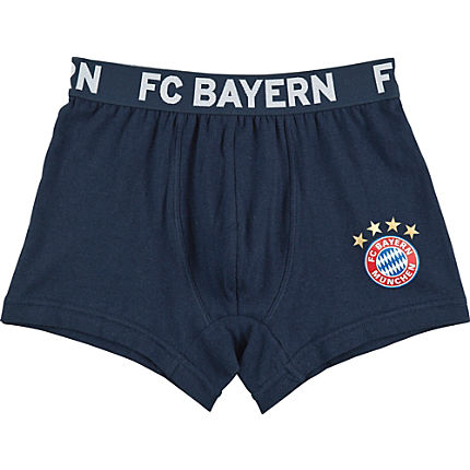 Zoom: FC Bayern Single-Jersey Shorts