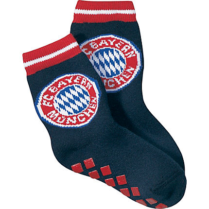 Zoom: FC Bayern Frottee ABS-Socken