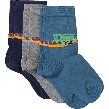 Zoom: Kinderbutt Socken im 3er-Pack