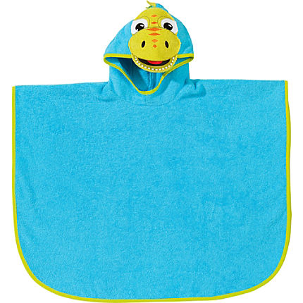 Zoom: Kinderbutt Walk-Frottier Poncho