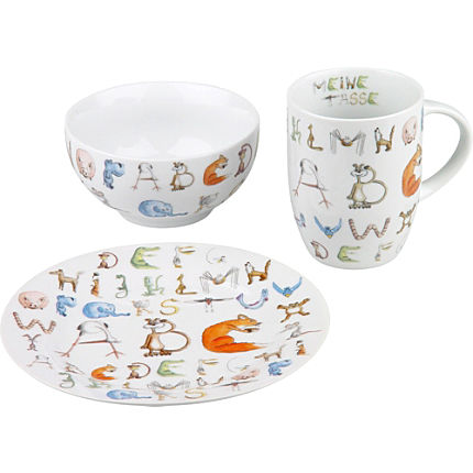 Zoom: Könitz 3-pc breakfast set for kids