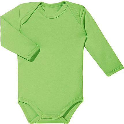Zoom: Baby Butt Interlock-Jersey Body langarm