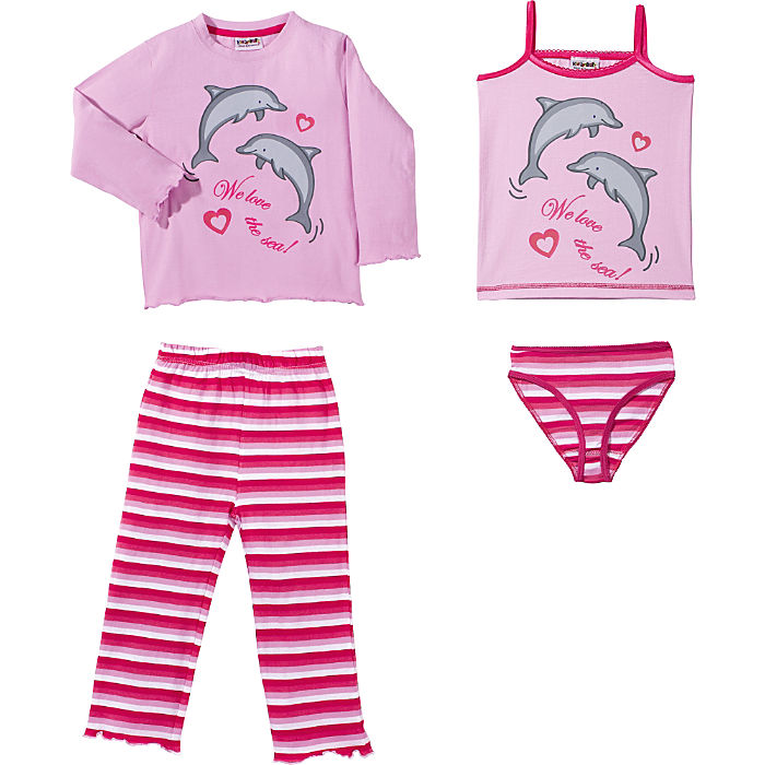 Hosena Angebote Kinderbutt Single-Jersey 4-teiliges Set