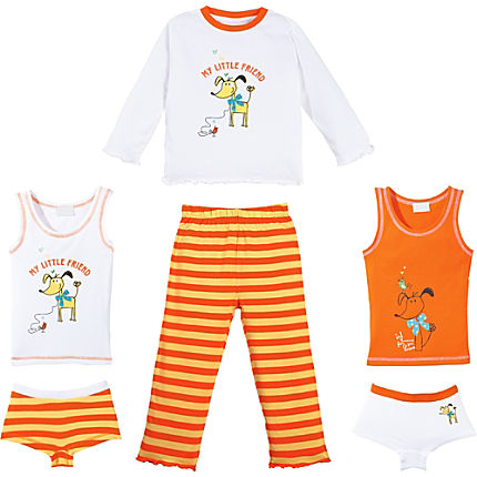 Zoom: Kinderbutt Single-Jersey 6-teiliges Set