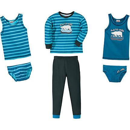 Zoom: Kinderbutt Interlock-Jersey 6-teiliges Set