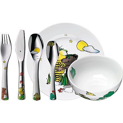 Zoom: WMF children cutlery & tableware set, 6-parts