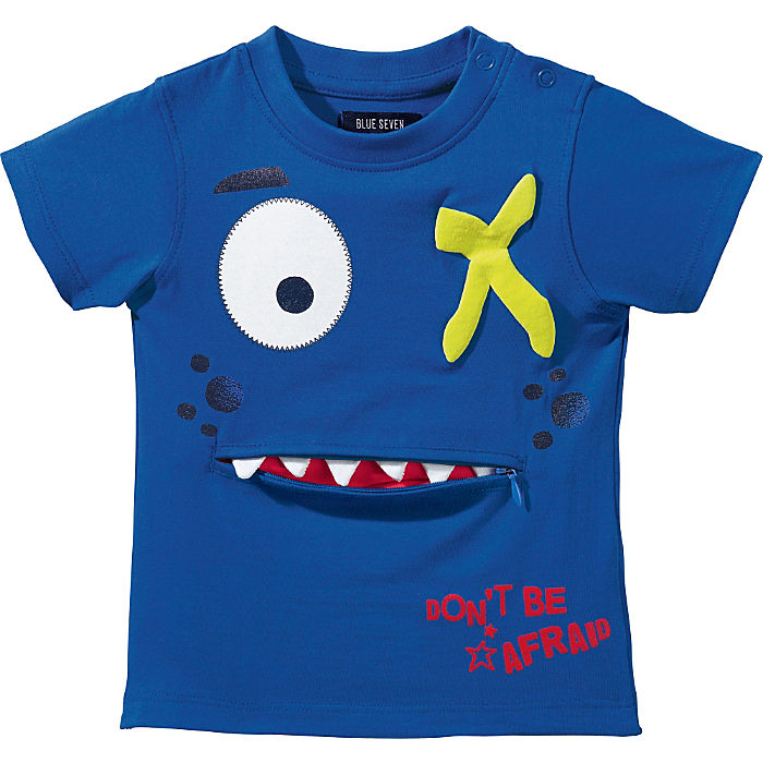 Blue Seven Single-Jersey Baby-T-Shirt