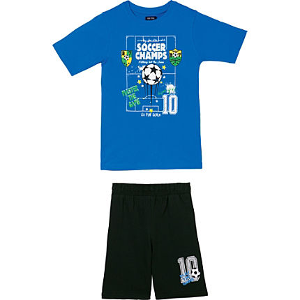 Zoom: Blue Seven Single-Jersey Set 2-tlg.