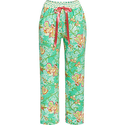 Zoom: Bloomy by Ringella Mix & Match Single-Jersey Hose, 7/8 lang