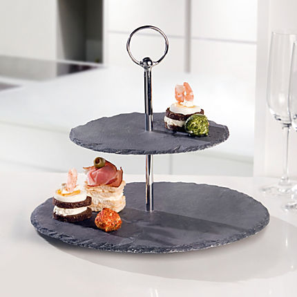 Zoom: Etagere Schiefer
