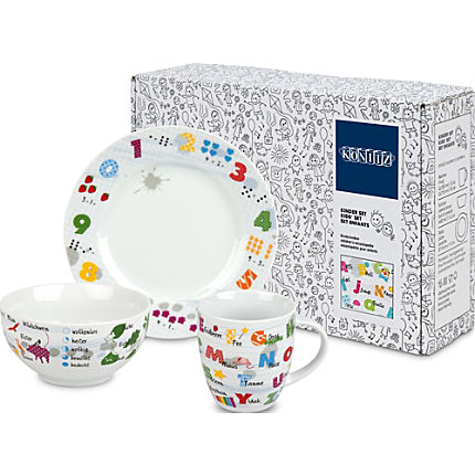 Zoom: Könitz  3-pc children tableware set