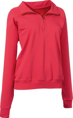 laritaM Sweat Troyer | Bekleidung > Pullover > Troyer | Rot | Sweat | laritaM