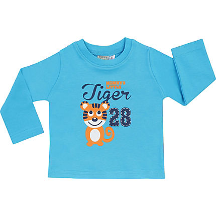 Zoom: Boley Interlock-Jersey Baby-Langarmshirt
