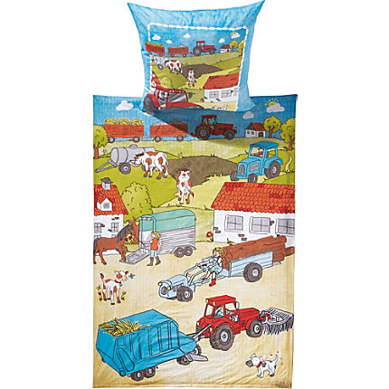 Zoom: Erwin Müller Renforcé kids duvet cover set