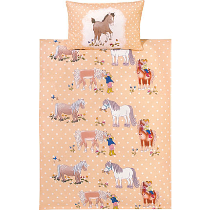 Zoom: Kinderbutt cotton flannelette duvet cover set