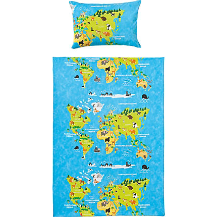 Zoom: Kinderbutt Renforcé duvet cover set