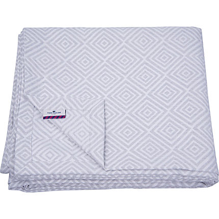 Zoom: Tom Tailor Jacquard Tagesdecke T-NATURAL SQUARES