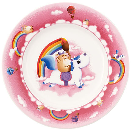 Zoom: Villeroy & Boch Speiseteller Lily in Magicland