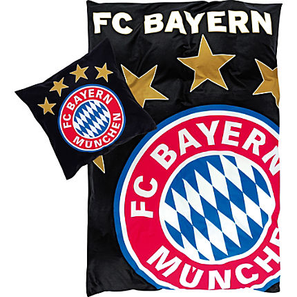 Zoom: FC Bayern Linon Bettwäsche Glow in the Dark