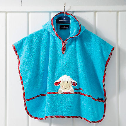 Zoom: Morgenstern Walk-Frottier Kinder-Poncho