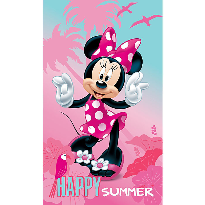 Image of CTI Velours Strandtuch ´´Minnie Mouse´´