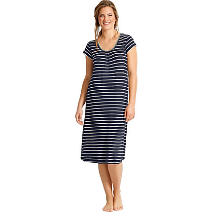 Zoom: Hajo Single-Jersey Freizeitkleid