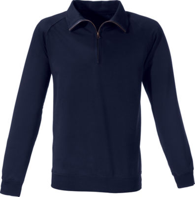 Erwin Müller Sweat Troyer. | Bekleidung > Pullover > Troyer | Blau | Sweat | Erwin Müller