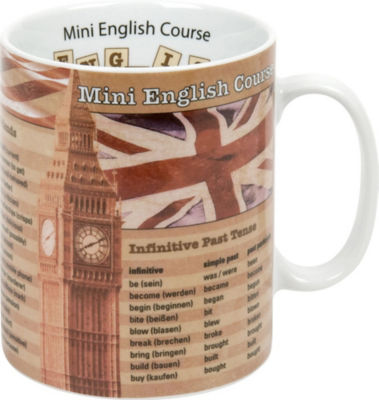 Könitz Kaffeebecher Mini English Course