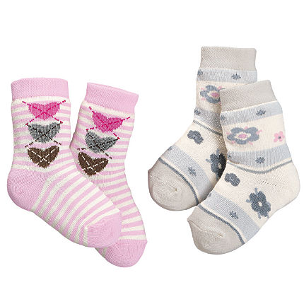 Zoom: Baby Butt Socken im 2er-Pack